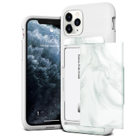 Чехол VRS Design Damda Glide Shield для iPhone 11 Pro White Marble