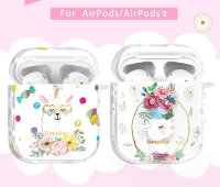Чехол Kingxbar Adorkable для Apple Airpods Flower Alpaca